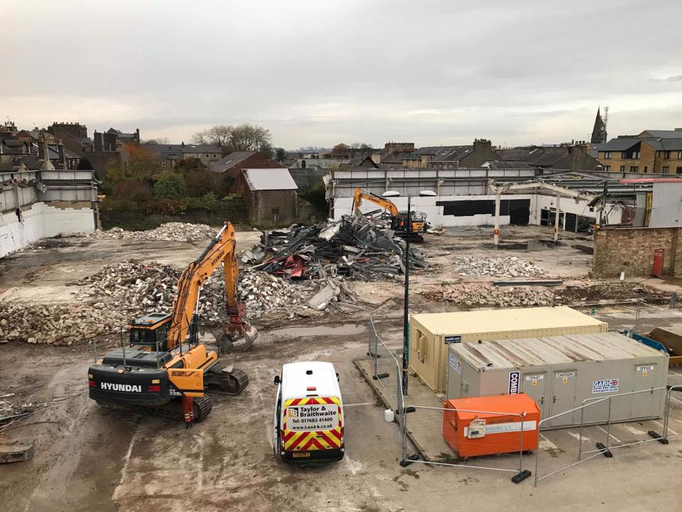 lancaster demolition