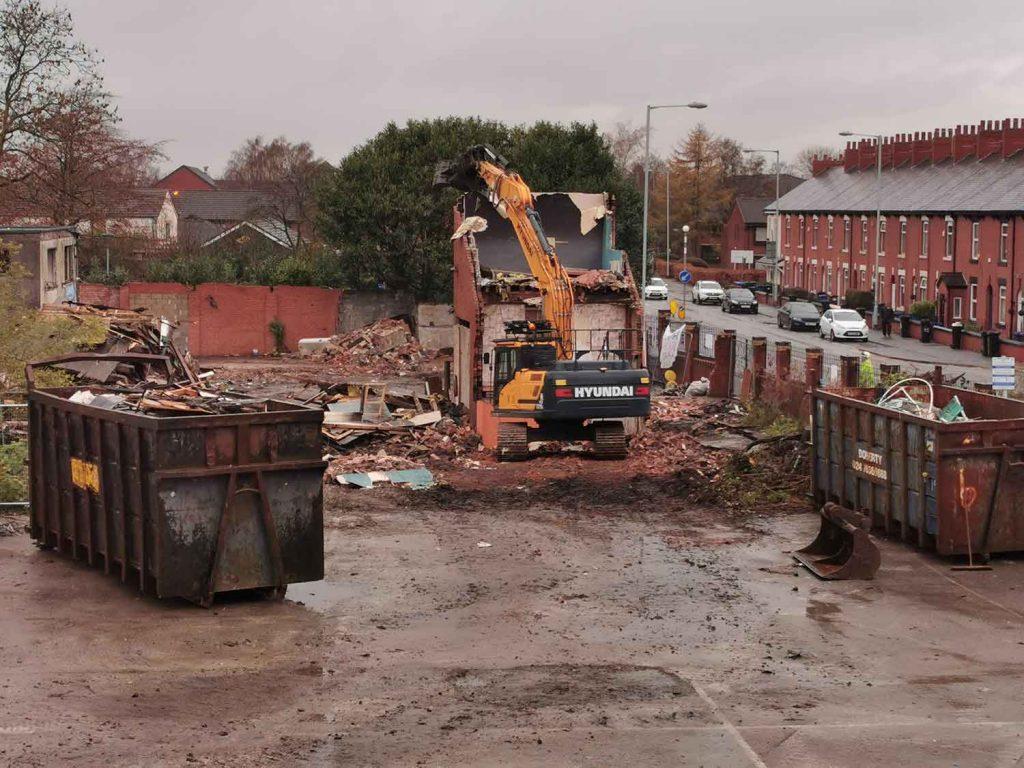 demolition stockport