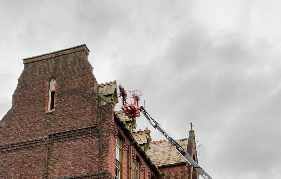 Emergency dismantling Preston